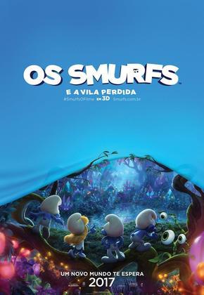 os-smurfs-e-a-vila-perdida poster