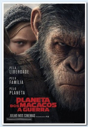 Planeta dos Macacos: A Guerra  poster