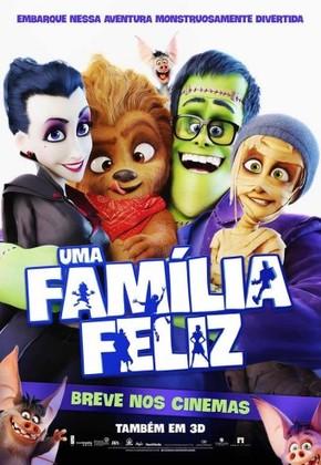 Um Família Feliz - 3D poster