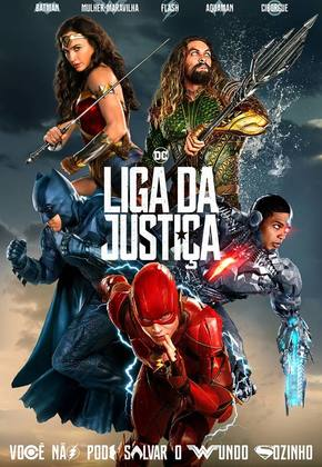 Liga da Justiça - 3D poster