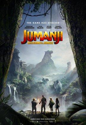 Jumanji - 3D poster